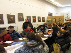 """Activităţi educaţionale, la Muzeul Brăilei """"Carol I"""" - Centrul Diversităţii Culturale şi Secția Etnografie."""