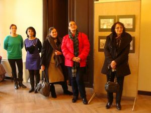 "Vernisajul expozitiei de grafica a artistei Constanta Abalasei-Donosa ""Asa am învatat sa iubesc Braila"""