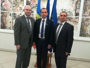 Recepție de celebrare a Zilei Naționale a României, la Consulatul General al României la Cahul, Republica Moldova