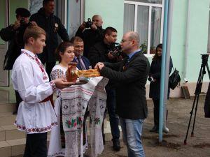 Ziua Națională a României. Participare la ceremonia de înfrăţire a comunelor Valea Mărului (Galați, România) și Țiganca (Cantemir, Moldova)