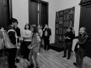 """Ora de atelier, cu elevi de la Liceul """"Hariclea Darclée"""