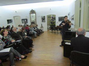 """""""Vis de iarnă"""", concert susținut de elevii Liceului de Arte """"Hariclea Darclée"""" Brăila, la sediul Muzeului Brăilei """"Carol I"""""""