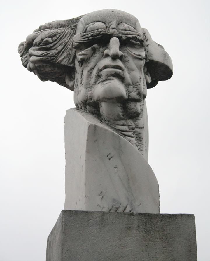 Bustul Lui Perpessicius, autor Nicapetre
